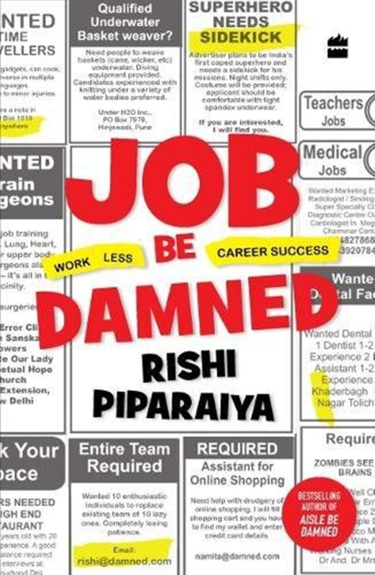 Job Be Damned by Rishi Piparaiya: Review