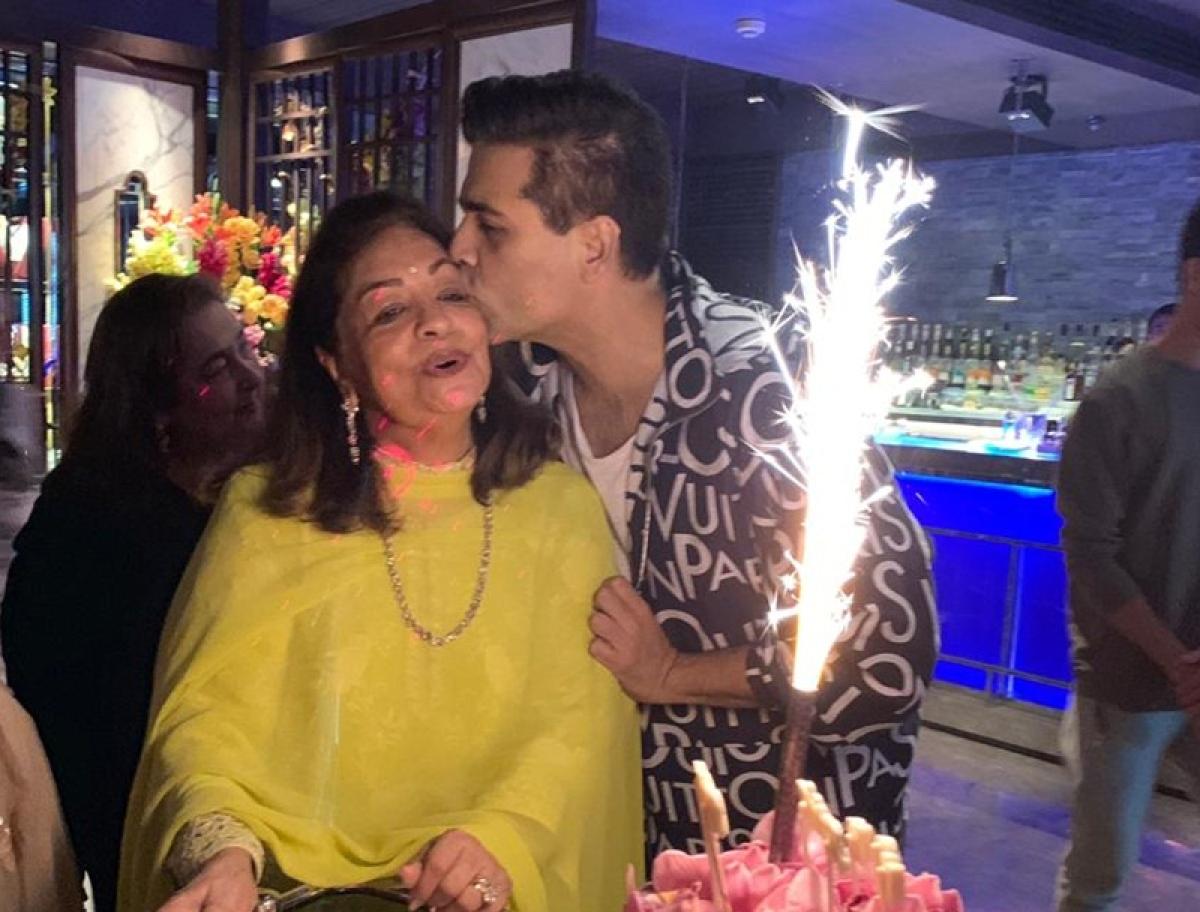Inside pictures from Karan Johar's mom Hiroo Johar's birthday bash