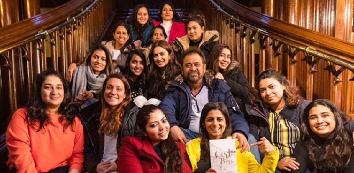 Anees Bazmee's Pagalpanti celebrates the film's female dominated crew