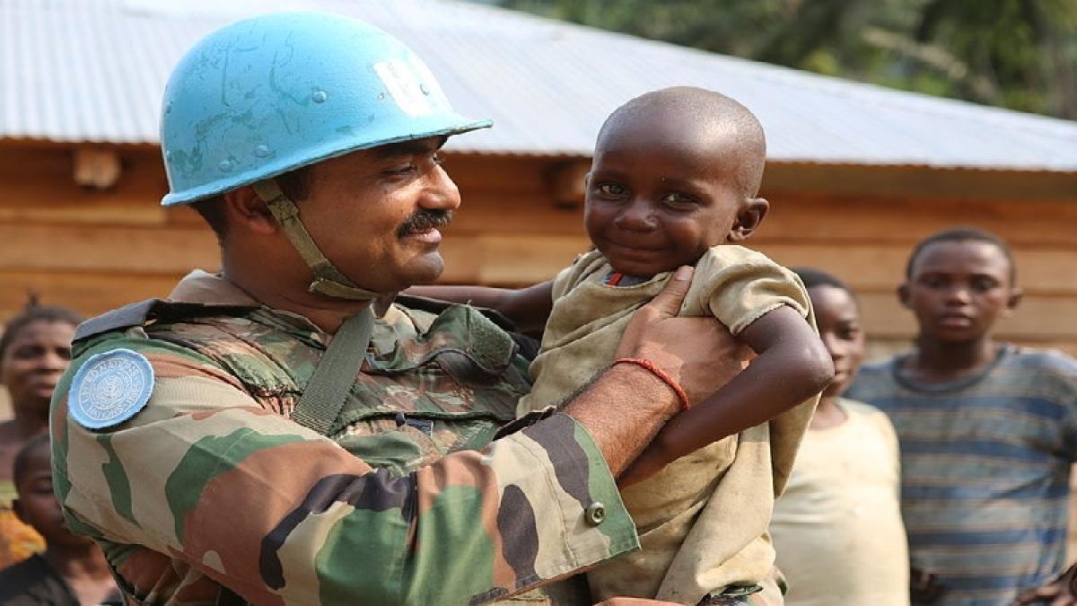 Indian peacekeepers garner praise for helping local communities