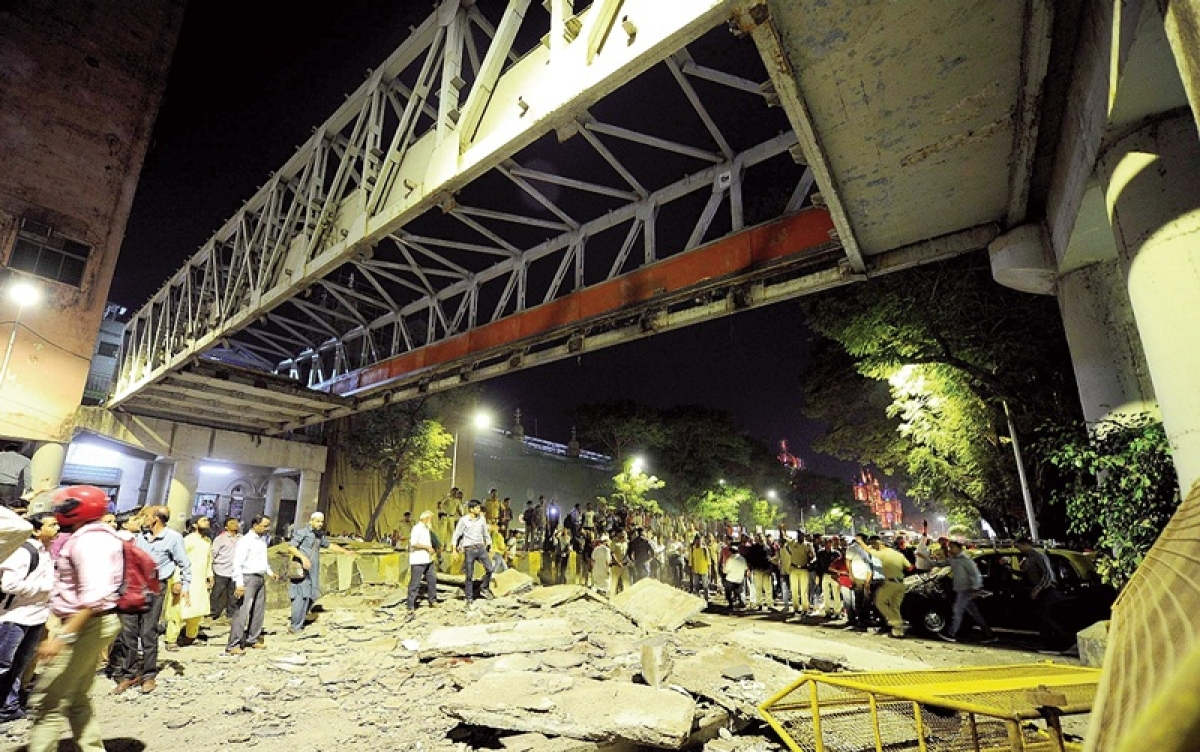 Mumbai CSMT foot overbridge collapses: 6 dead, 33 injured; audit was carried out recently