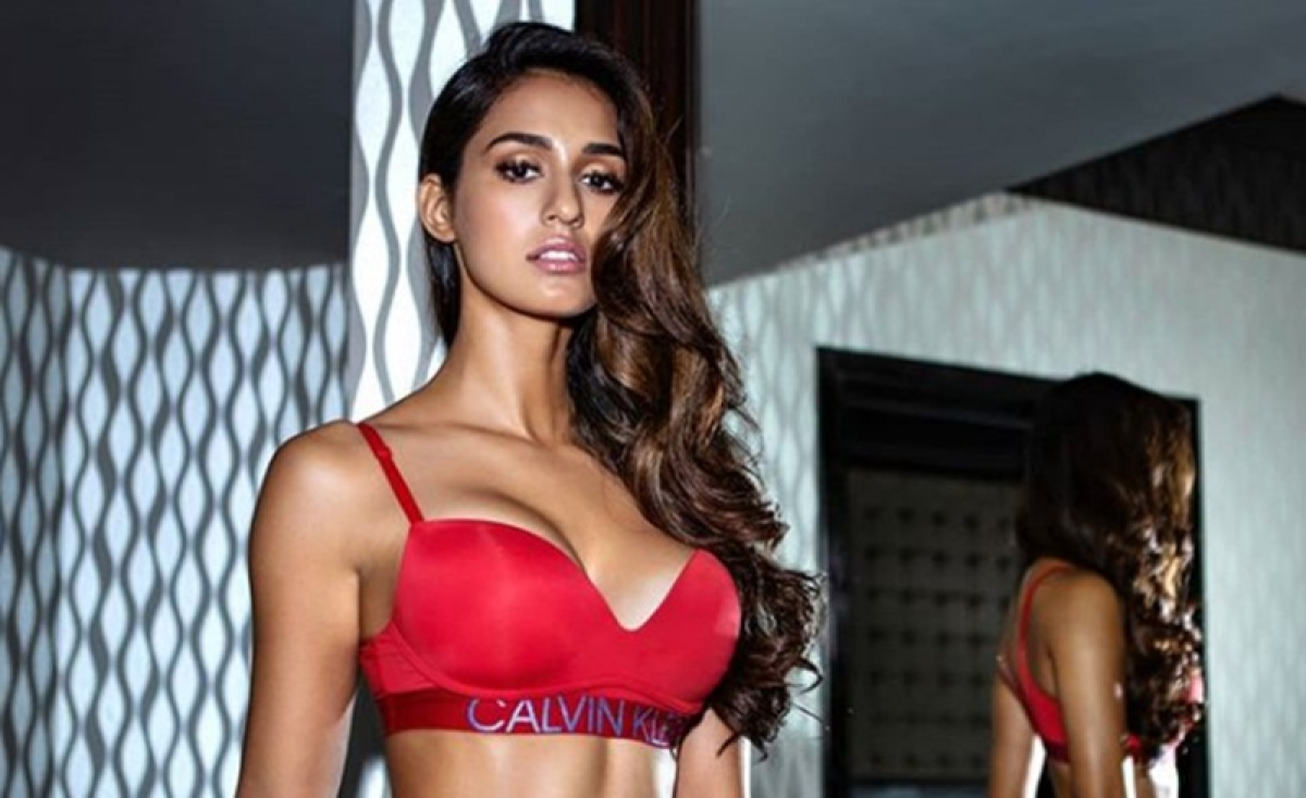 Disha Patani in red hot lingerie will fade away your Monday blues; see picture