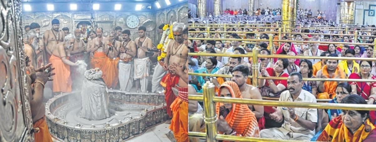 Ujjain: Thousands pay obeisance at Mahakal Temple on Mahashivratri