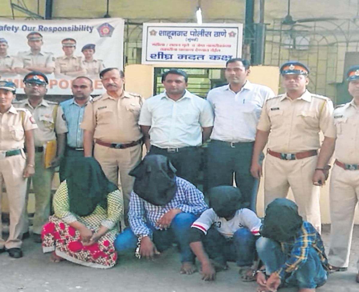 Mumbai: 4 held for robbing, killing senior citizen