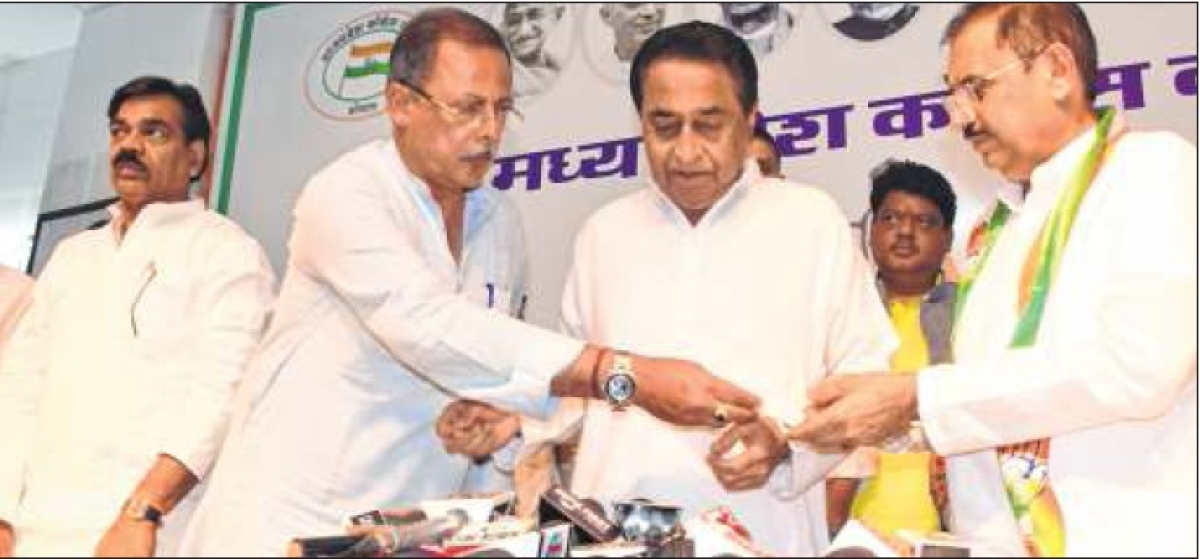 Bhopal: Ex-BJP minister's elder brother joins Congress