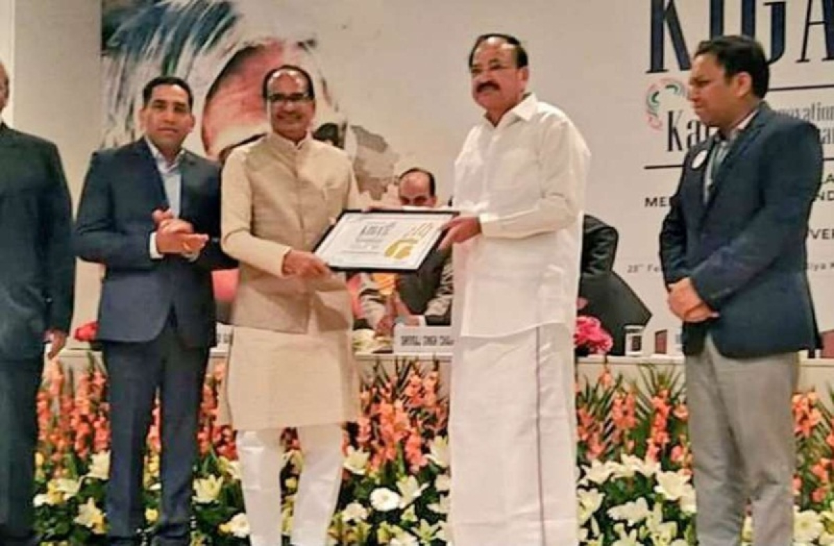 Bhopal: Chouhan conferred with APJ Abdul Kalam Award