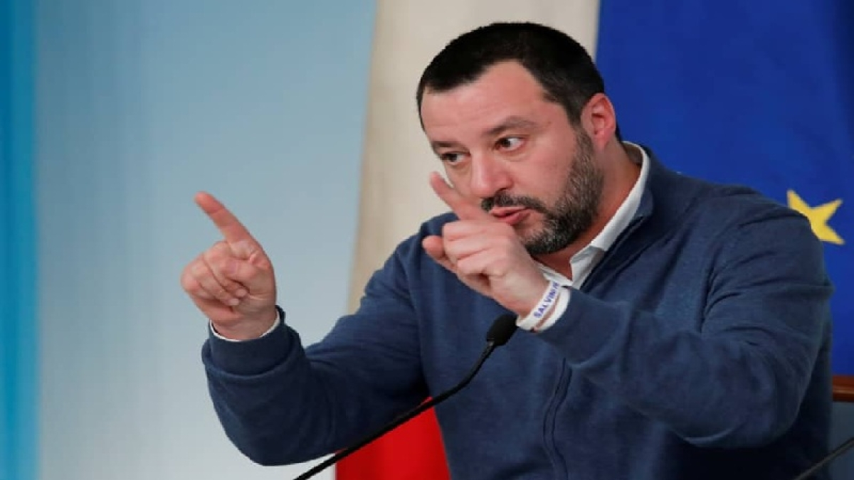 Italy's Salvini lays down law for migrant rescue ships