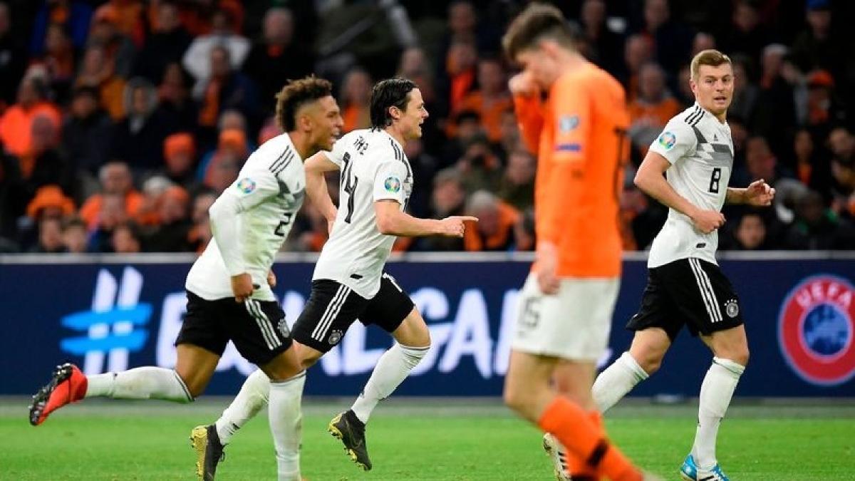 Euro 2020 qualifier: Germany clinch thriller