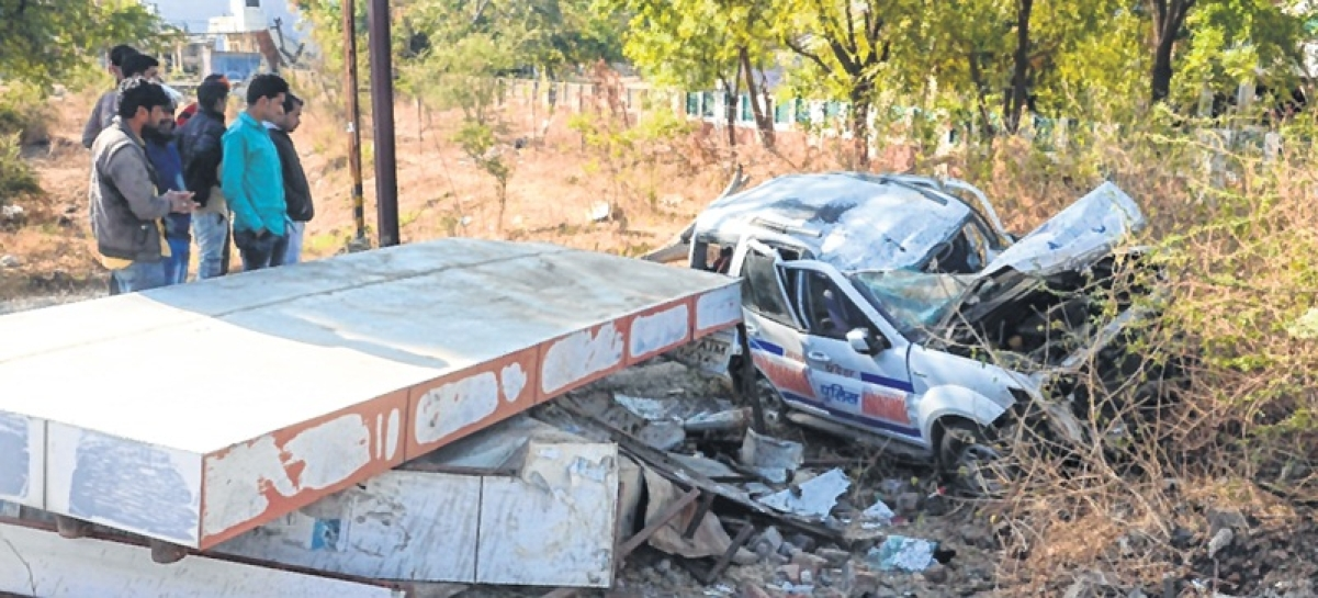 Ujjain: 2 killed in accident on Dewas Road