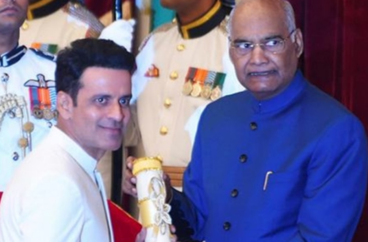 Bollywood celebs congratulate Manoj Bajpayee on receiving Padma Shri