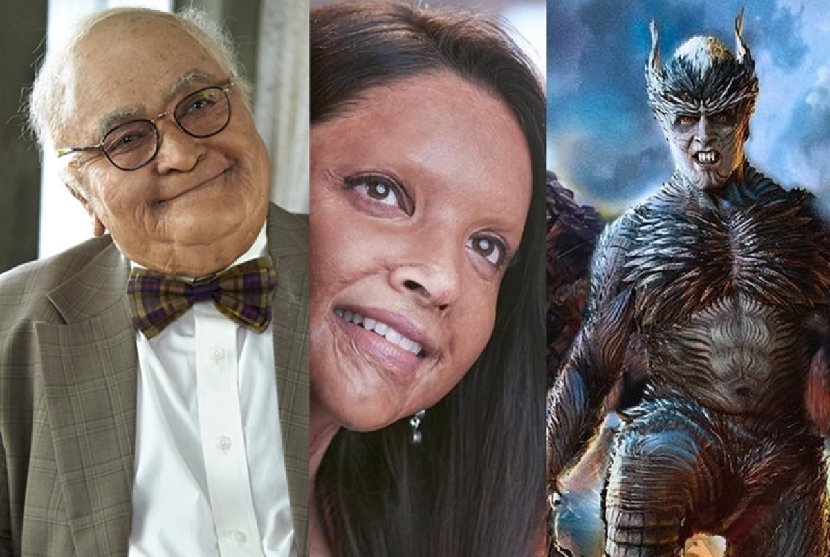 Before Deepika in 'Chhapaak', 10 actors who went for extreme transformation onscreen
