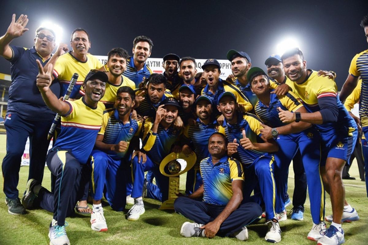 Syed Mushtaq Ali Trophy: Karnataka become champions after defeating Maharashtra by 8 wickets
