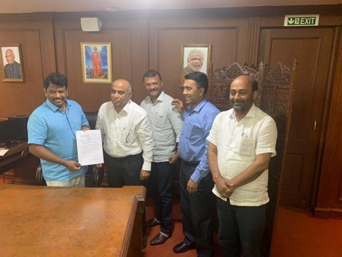 BJP strength in Goa assembly increases after two MGP MLAs switch sides