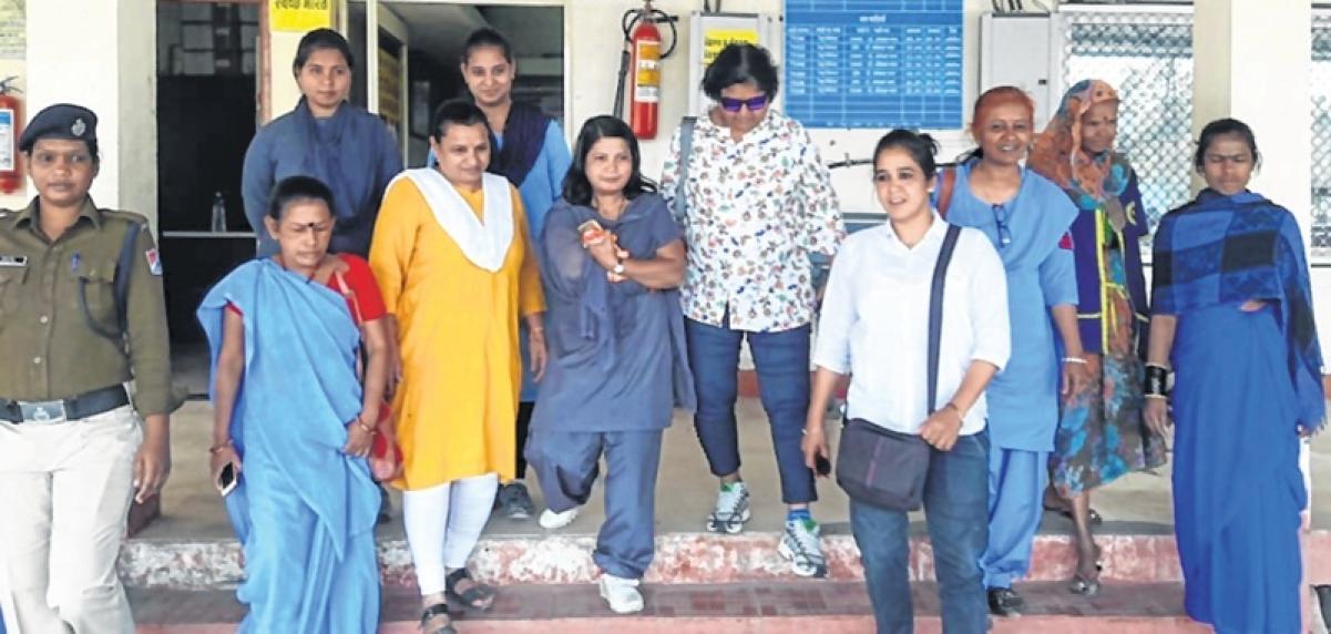 Indore: PINK express, Women man Rajendra Nagar railway station