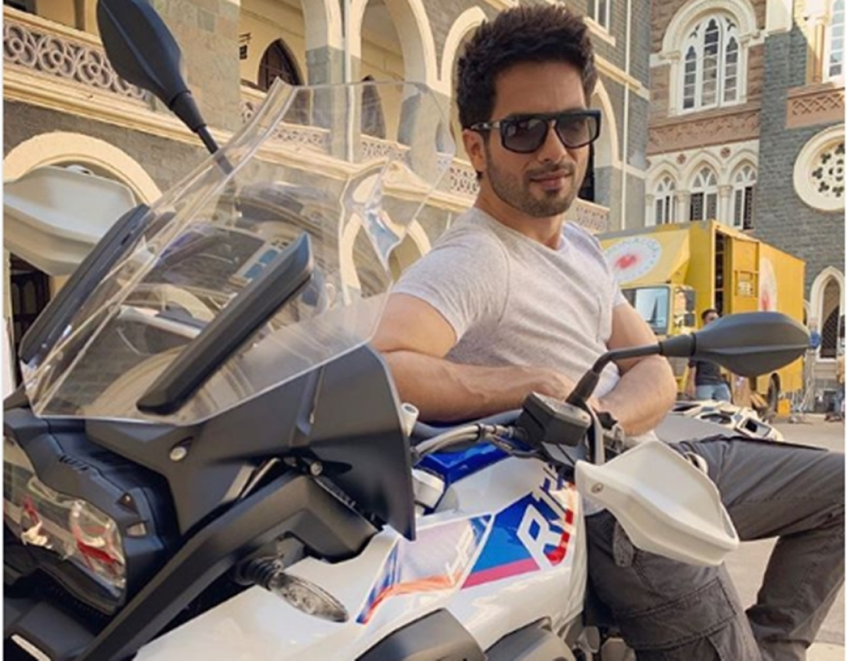 Price of Shahid Kapoor's new adventure bike will raise your brows
