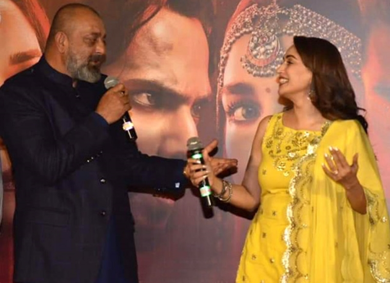 It was fate: Madhuri Dixit on working with Sanjay Dutt in 'Kalank'