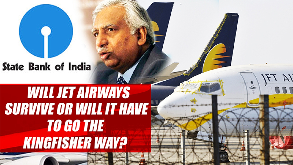 Will Jet Airways Survive Or Will It Have To Go The Kingfisher Way?