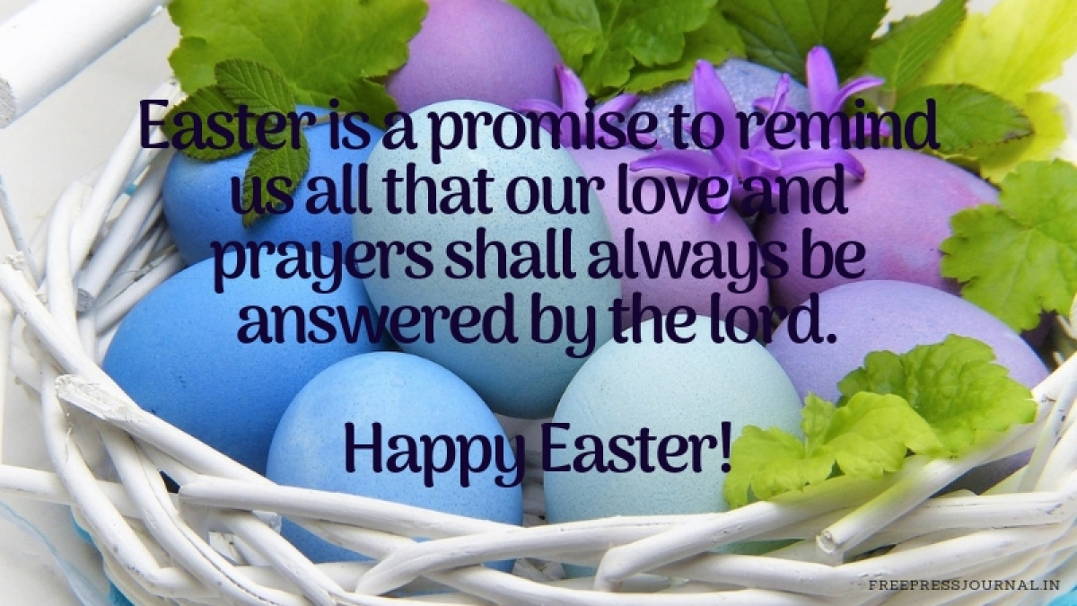 Easter 2019: Wishes, messages, images to share on WhatsApp, Facebook, Instagram and SMS