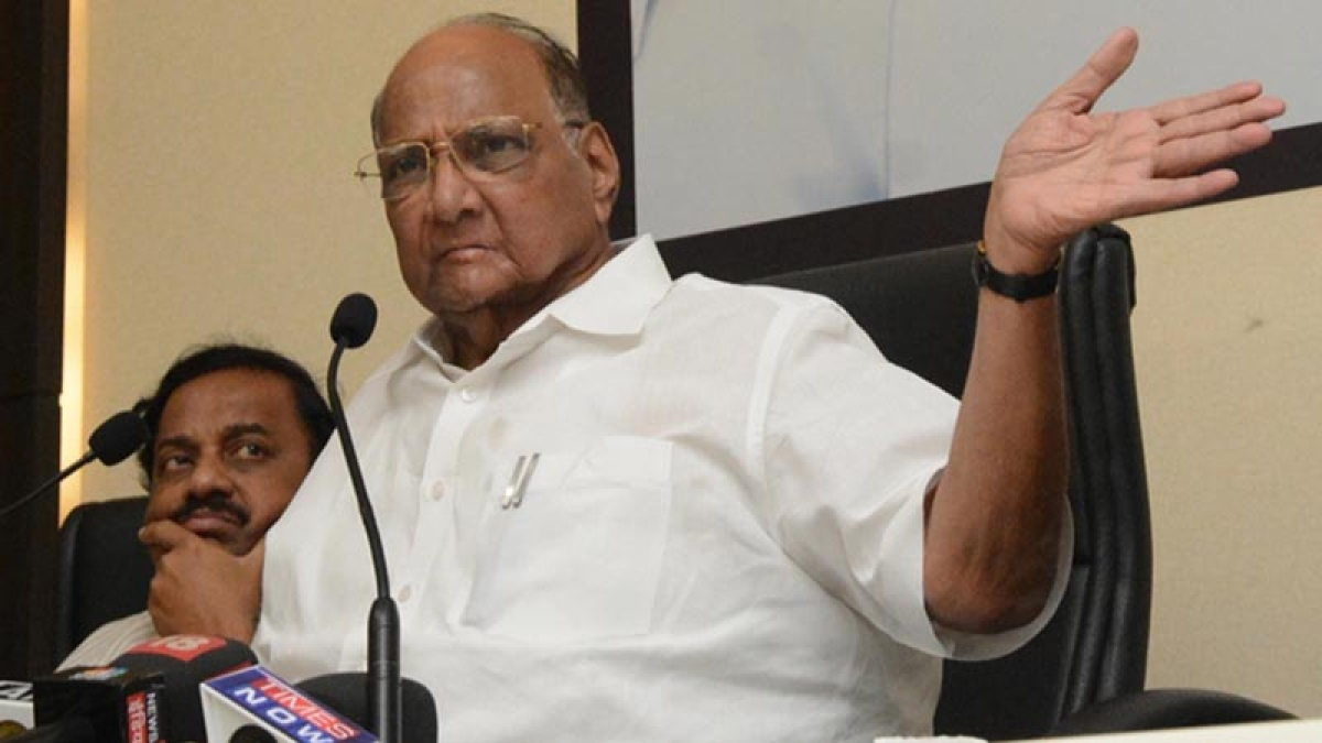 Manipulation of EVMs is the only worrying factor: NCP chief Sharad Pawar