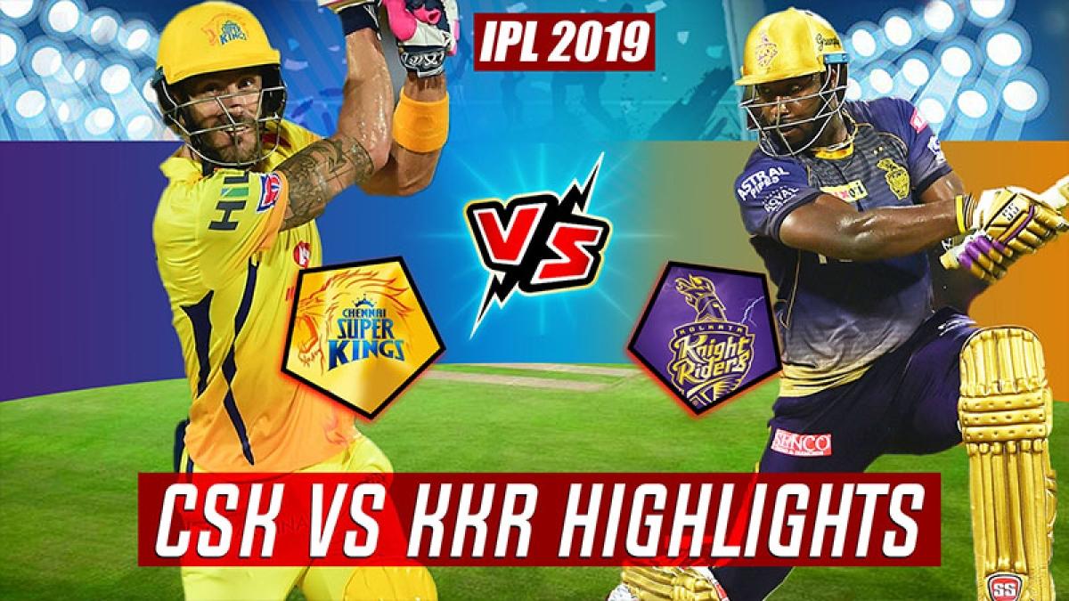 IPL 2019 Match 23  CSK vs KKR Full Highlights, Turning Points