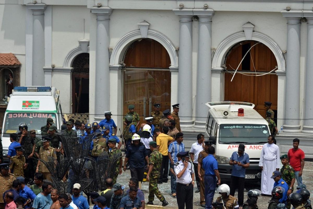 Celebrity TV chef, daughter killed in Sri Lanka bombing