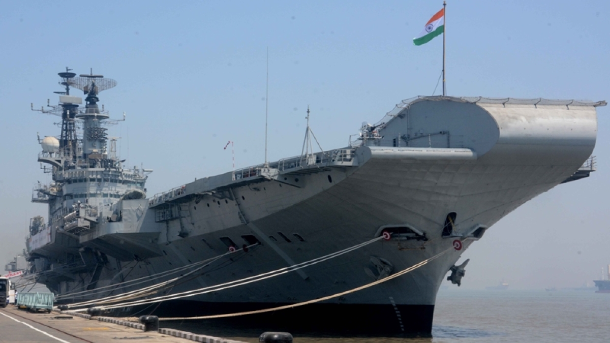 Naval officer killed in fire fighting efforts on board aircraft carrier INS Vikramaditya