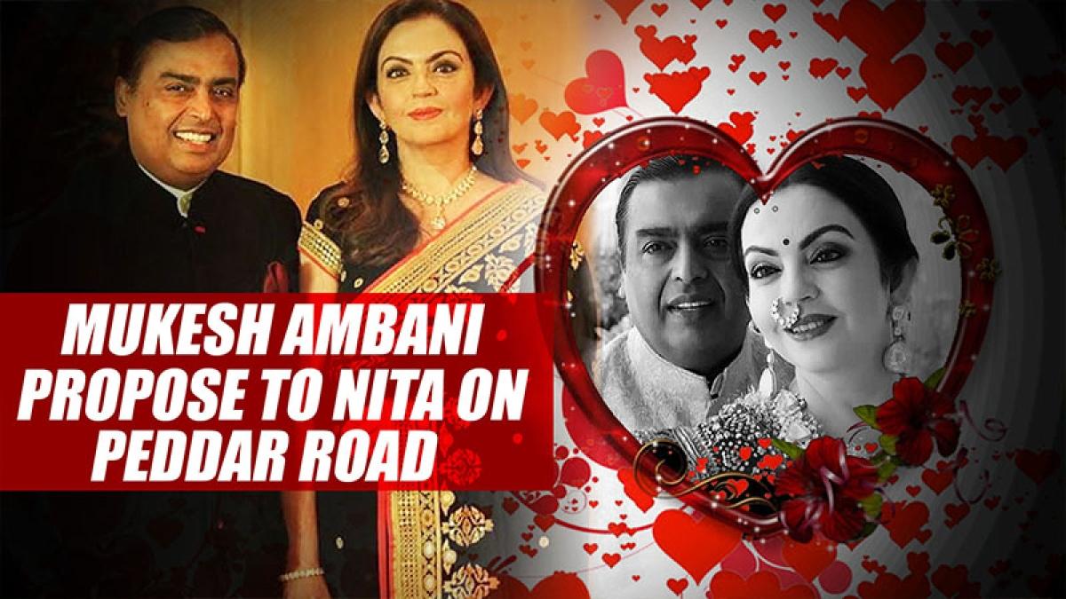 When Mukesh Ambani Stopped His Car Mid Traffic To Propose To Nita On Peddar Road