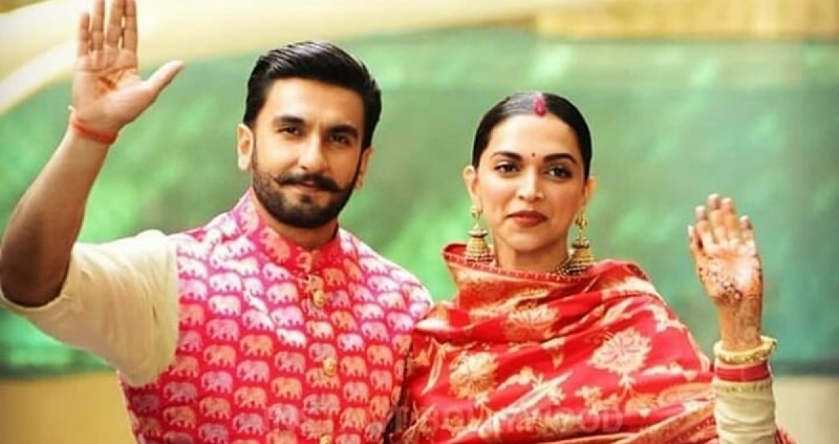 Deepika Padukone and Ranveer Singh make the perfect wedding guests