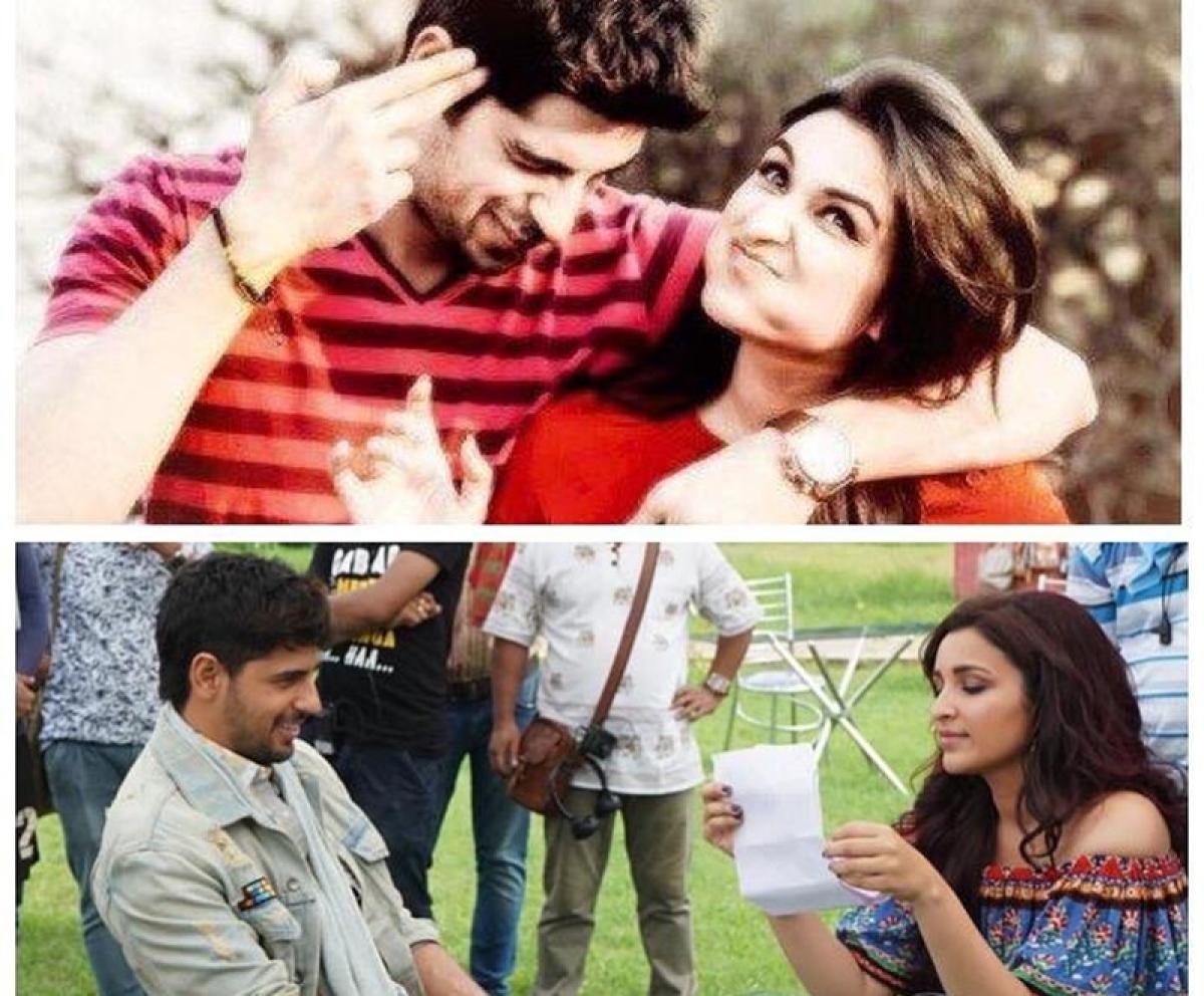 Sidharth Malhotra, Parineeti Chopra wrap up rom-com 'Jabariya Jodi'