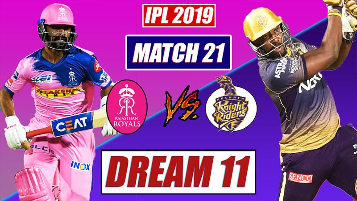 IPL 2019 RR vs KKR Match 21 Playing 11, dream 11 tips | Rajasthan vs Kolkata