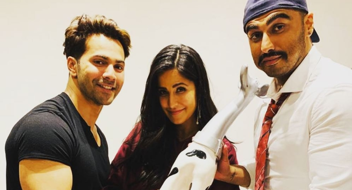 Varun Dhawan calls Katrina Kaif a horse with blinkers; find out why