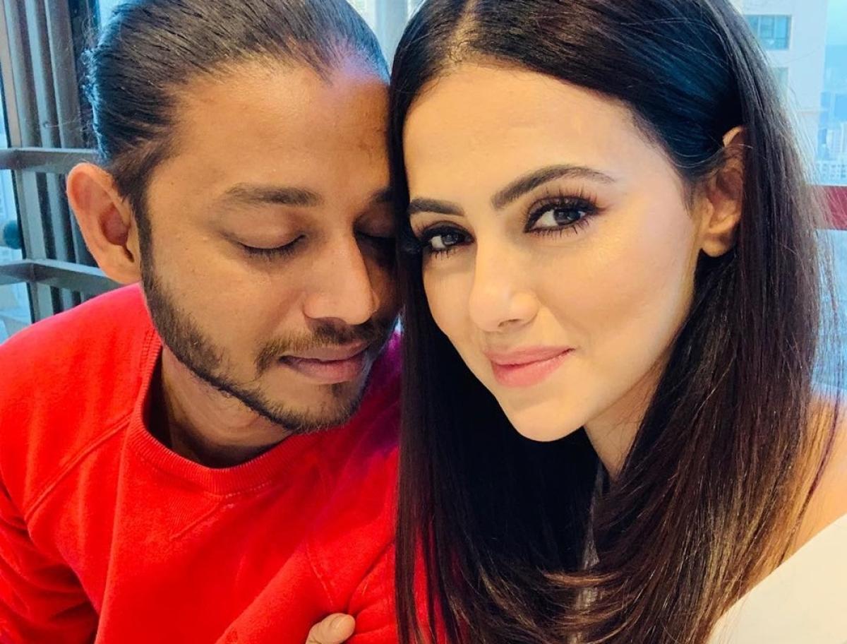 Sana Khan confesses love for her dance tutor Melvin Louis on his birthday