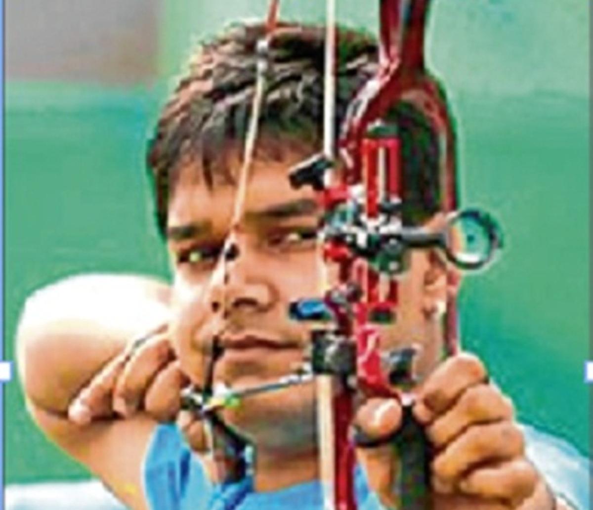 Abhishek Verma hits the bullseye