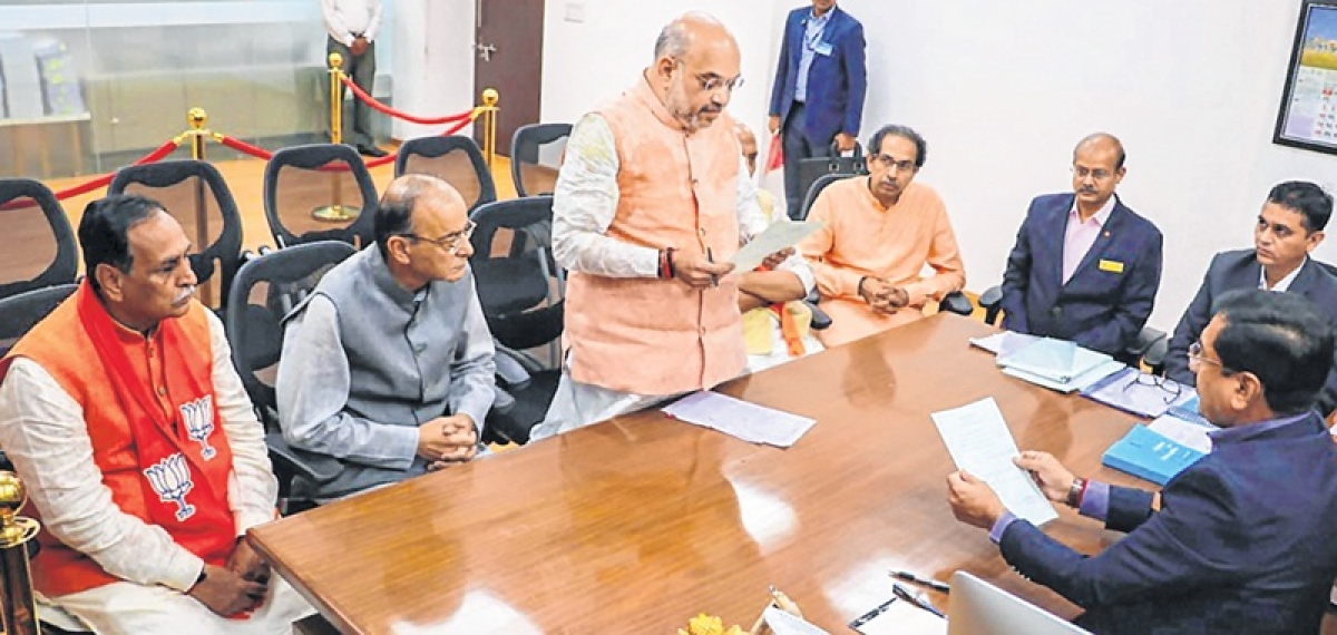 Uddhav Thackeray went with Amit Shah to Gujarat to stamp out discord, claim Sainiks
