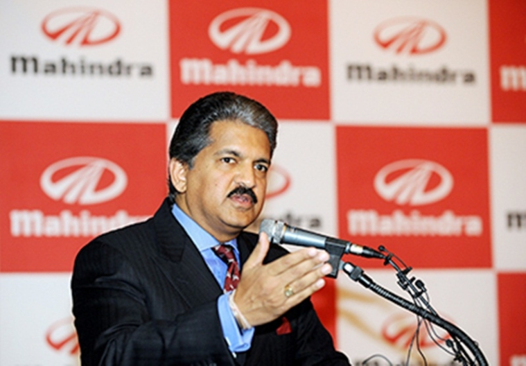 Mahindra vice-chairman and managing director Anand Mahindra speaks at a news conference in Seoul on August 23, 2010. India's leading sports utility vehicle maker Mahindra and Mahindra signed a preliminary agreement to take over bankrupt South Korean carmaker Ssangyong Motor. AFP PHOTO/JUNG YEON-JE