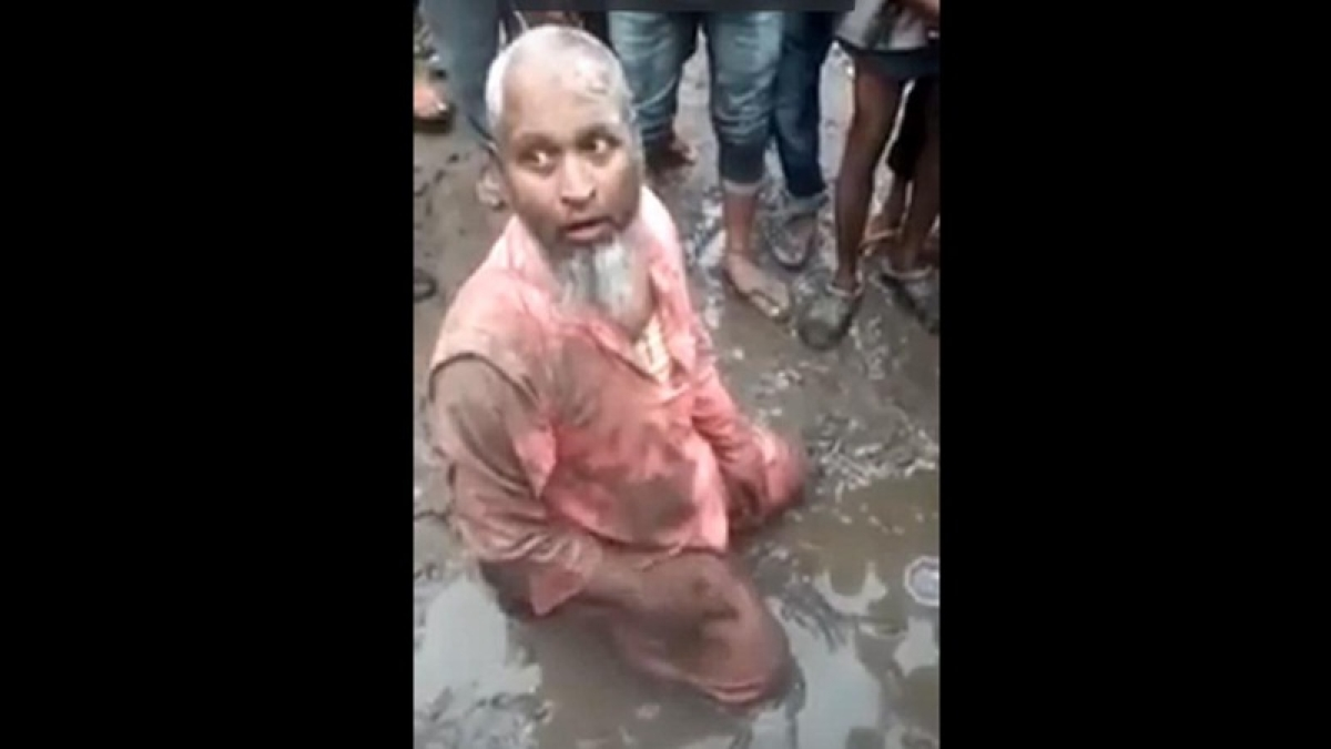 Assam: Mob thrashes 68-year-old Muslim man for selling beef, forces him to eat pork