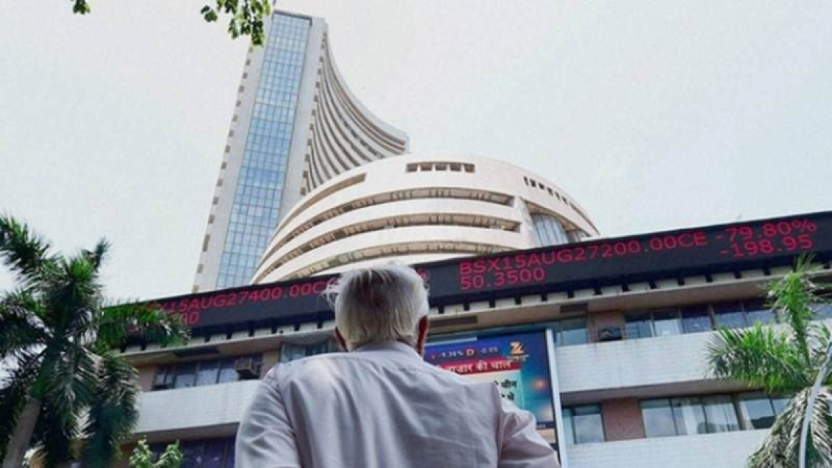 Market Update: Sensex surrenders opening gains, drops over 60 points