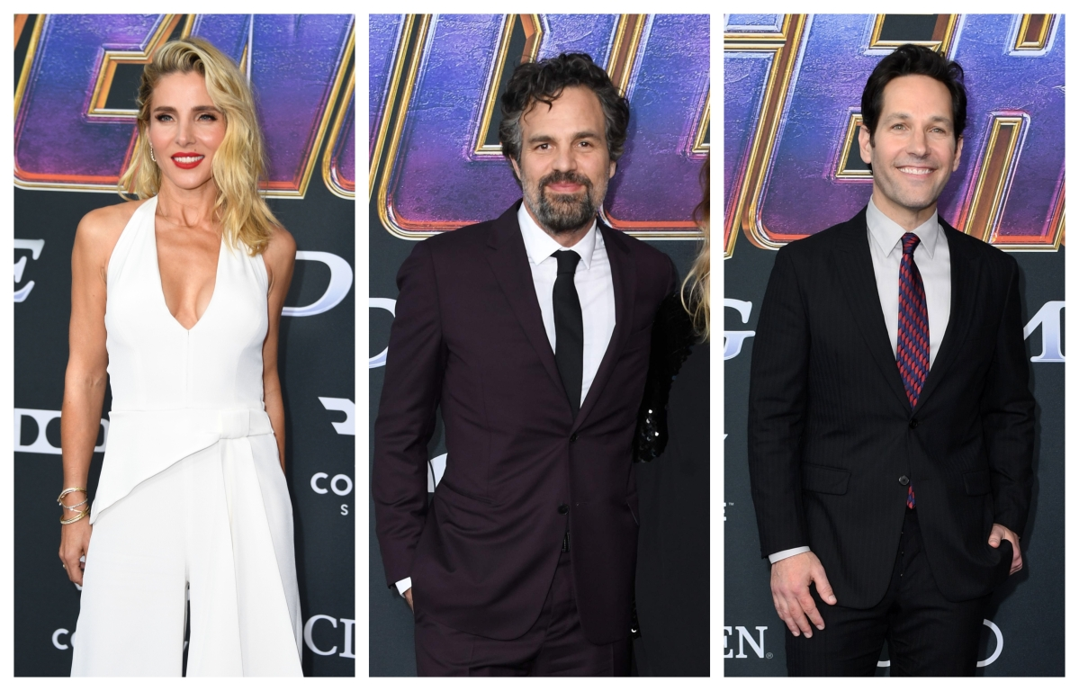 'Avengers: Endgame' premiere: Celebrities amp up their fashion game