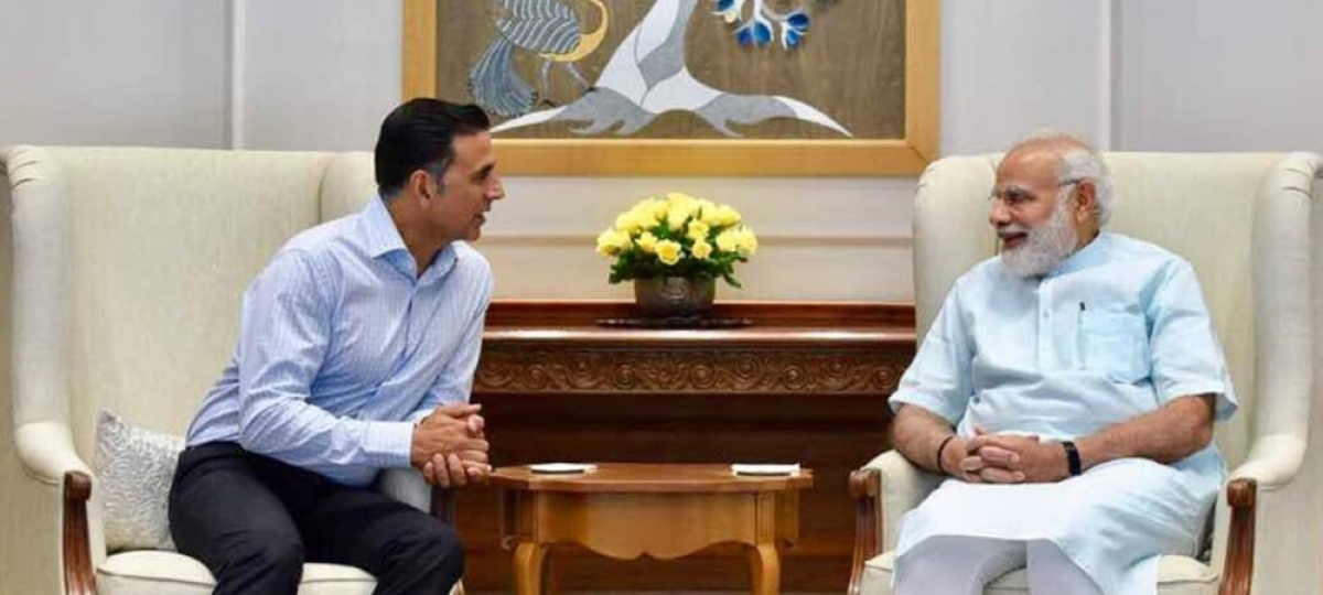 Akshay Kumar's confusing Tweet was actually about interviewing PM Narendra Modi? Details inside
