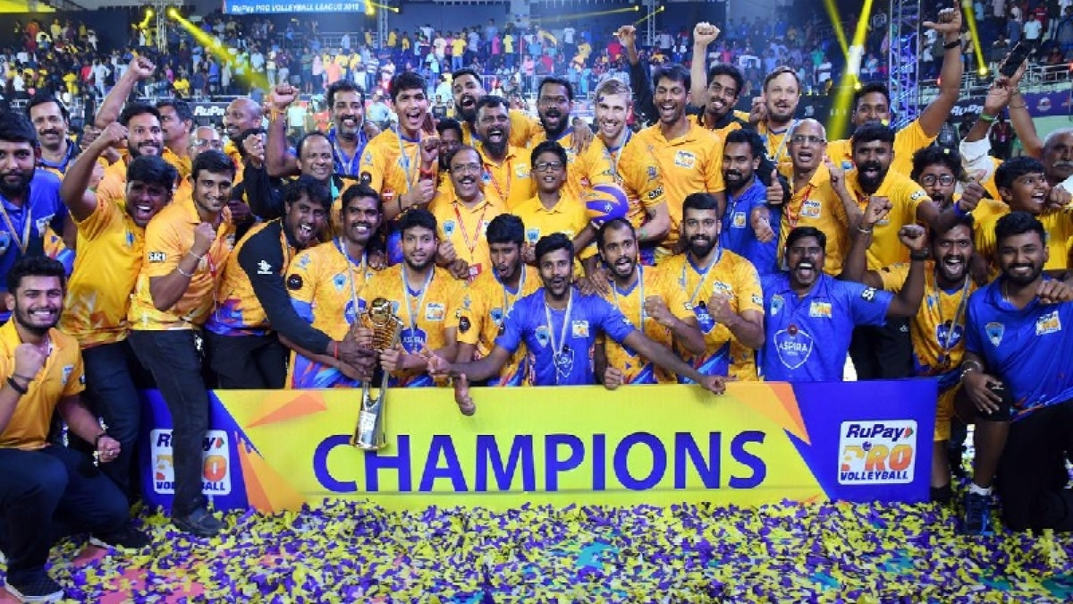 Pro Volleyball League: Chennai Spartans make waves in Asian Championship image credit: Scroll.in