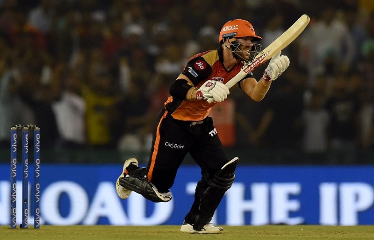 IPL 2019: David Warner records seven consecutive fifties against Kings XI Punjab