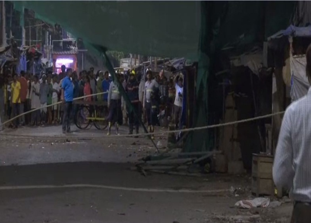 Mumbai: Under-construction building collapses in Dharavi, 1 dead and 3 injured