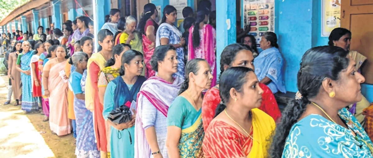 Lok Sabha elections 2019 – 3rd Phase: Huge turnout of Hindu voters in central and south Kerala