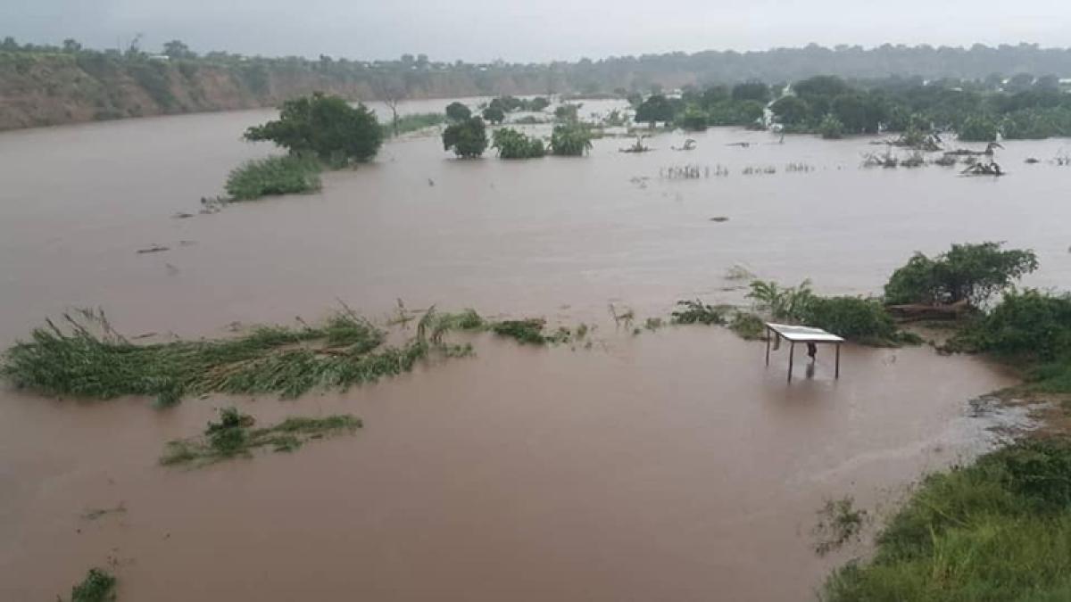 Serious floods hit Mozambique