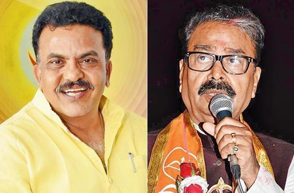 Lok Sabha elections 2019: Gajanan Kirtikar, Sanjay Nirupam engage in bitter war of words on social media