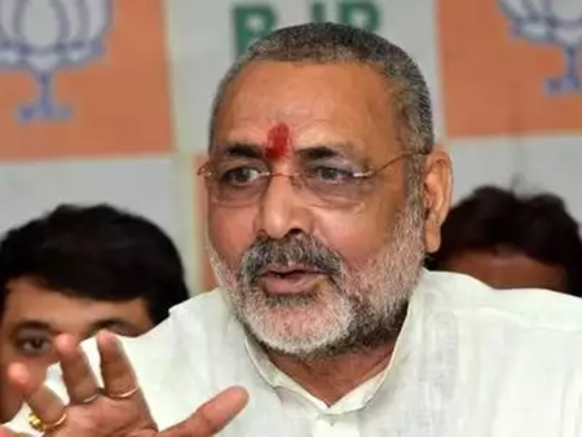 Giriraj Singh targets Nitish Kumar for Bihar floods