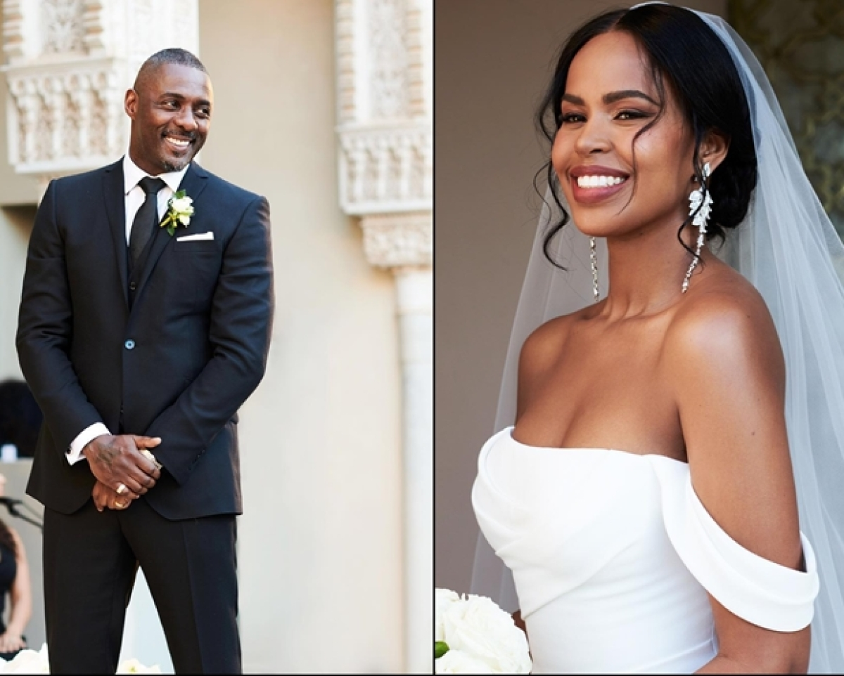 Idris Elba marries Sabrina Dhowre in Morocco