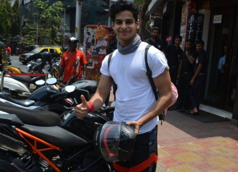 Ishaan Khatter's bike towed away from no-parking zone, pays fine to get it back