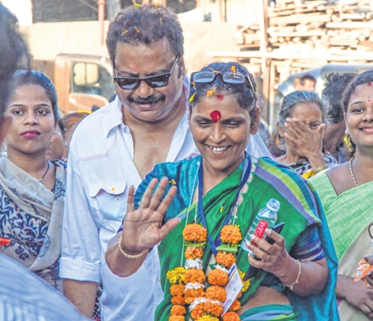 People struggling for basic amenities, says Independent candidate from Mumbai North Central Joy Bhosale