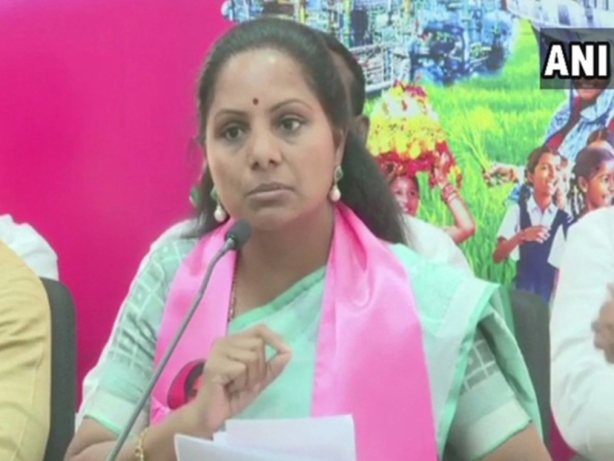 Telangana: KCR's daughter Kalvakuntla Kavitha hits out at 'patriotic' BJP, asks why party didn't solve Kashmir issue